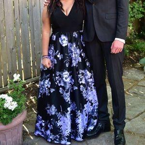 BETSY & ADAM Floral Dress